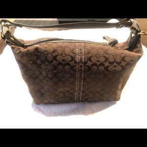 2/$40 Brown Coach clutch